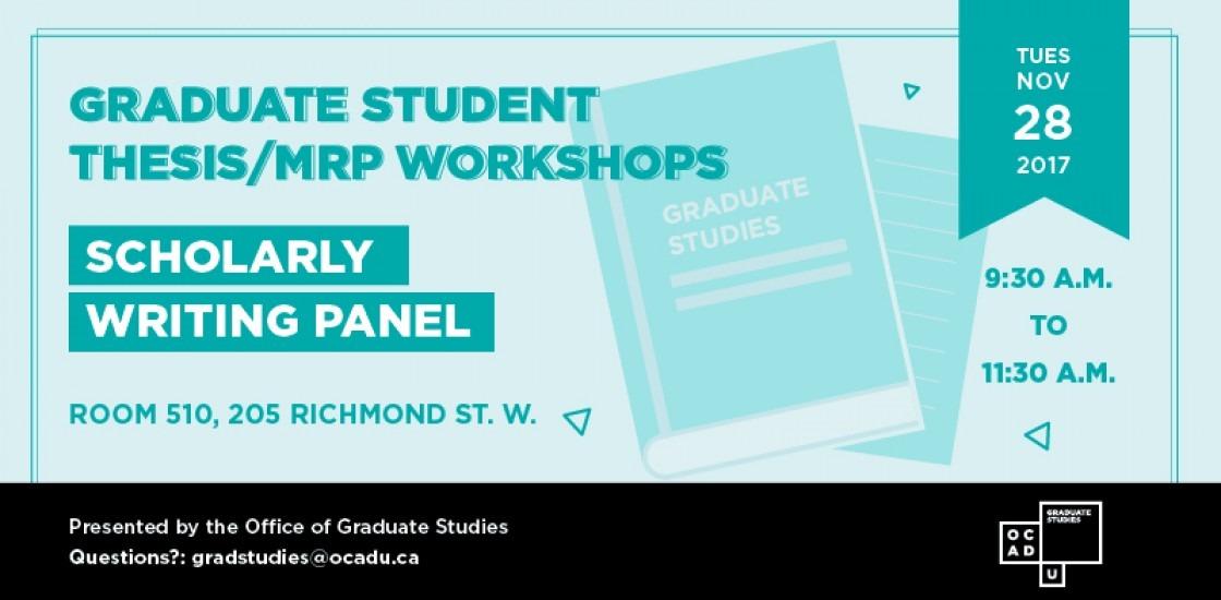 Graduate Writing Panel