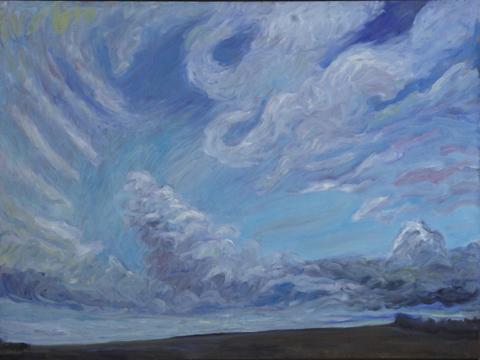 Storm Breaking/Grand Prairie, 2007 by Rae Johnson