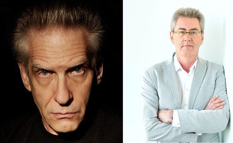 David Cronenberg and Piers Handling. Photos courtesy TIFF.