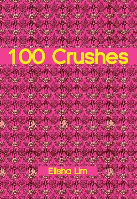 100 Crushes by Elisha Lim. Book cover art courtesy Koyama Press.