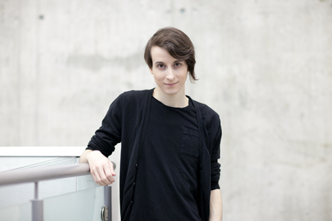 Rickee Charbonneau at GradEx 2014. Photo by Christina Gapic.