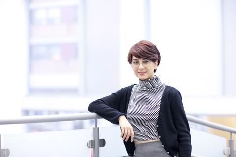Sanaz Mianji at GradEx 2014. Photo by Christina Gapic.