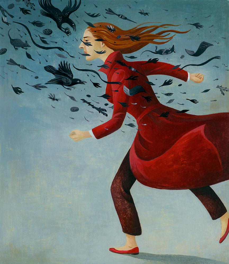 """Courage"" Artwork by Jody Hewgill"