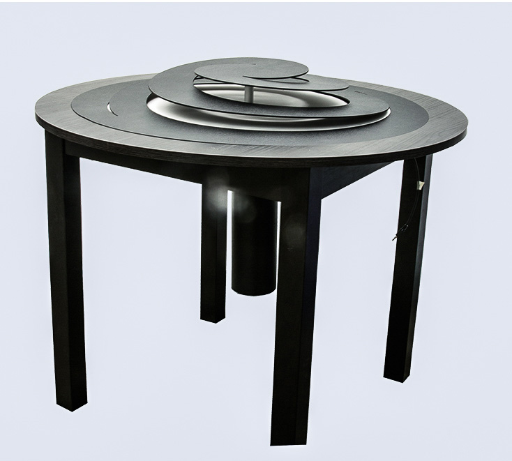Table designed by Leon Lu