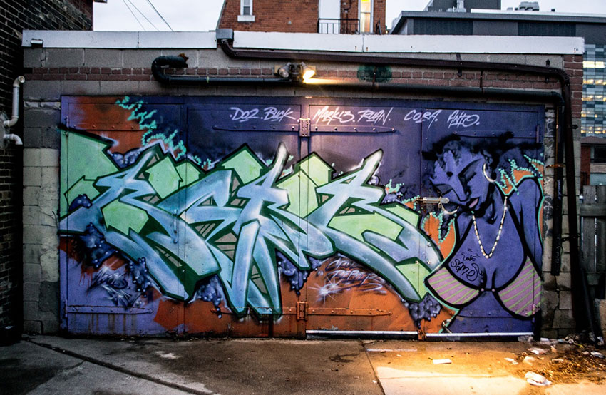 Graffiti Photos by Leon Lu