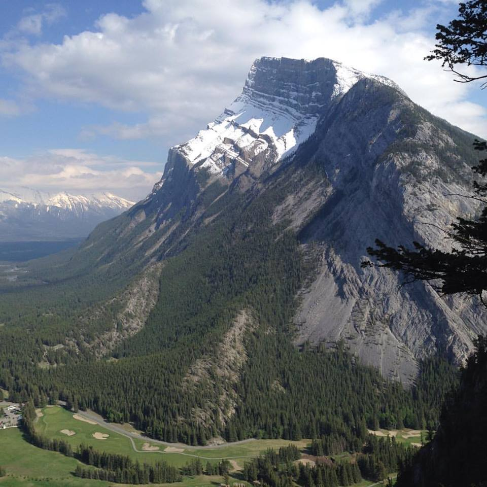 View of Tunnel Mountain