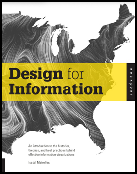 """An introduction to the histories, theories, and best practices behind effective information visualizations"""" (Rockport, 2013)."""