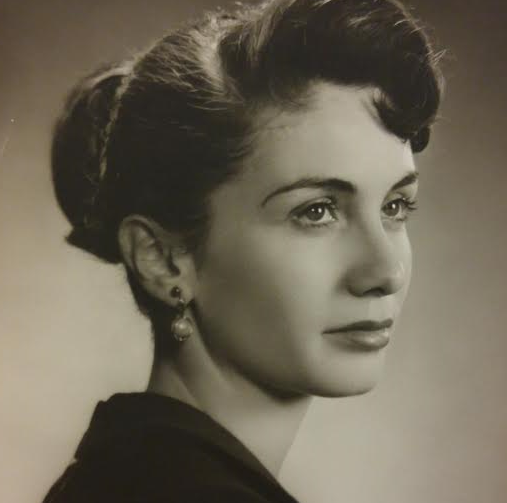 Audrey Mercer, Class photo 1956
