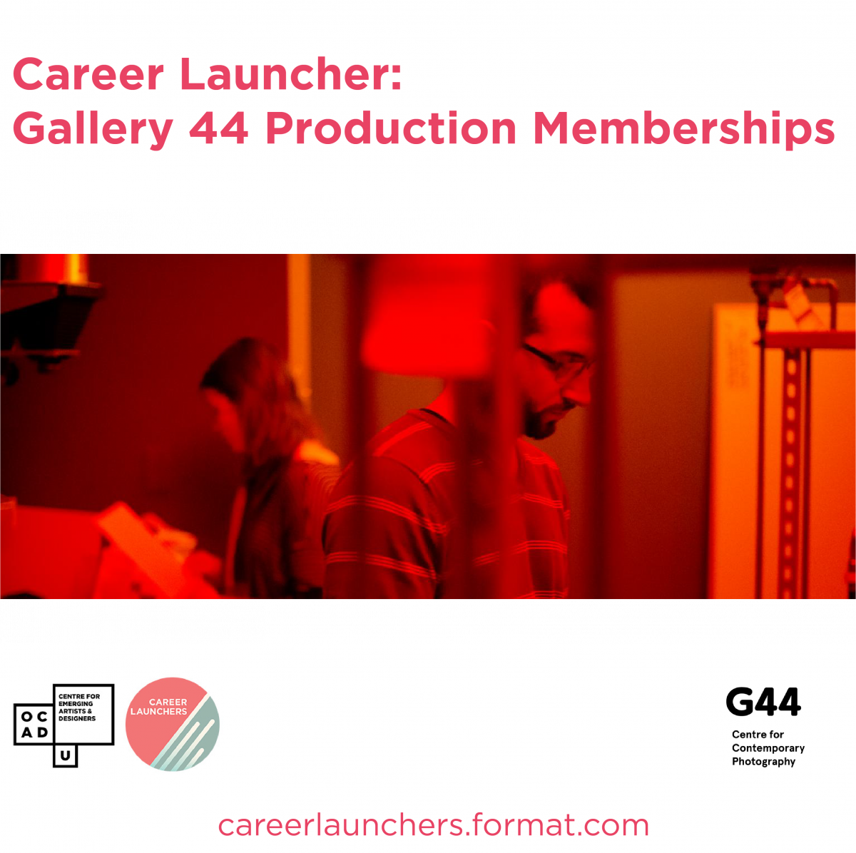 Call for Applications Career Launcher Gallery 44 Production Memberships