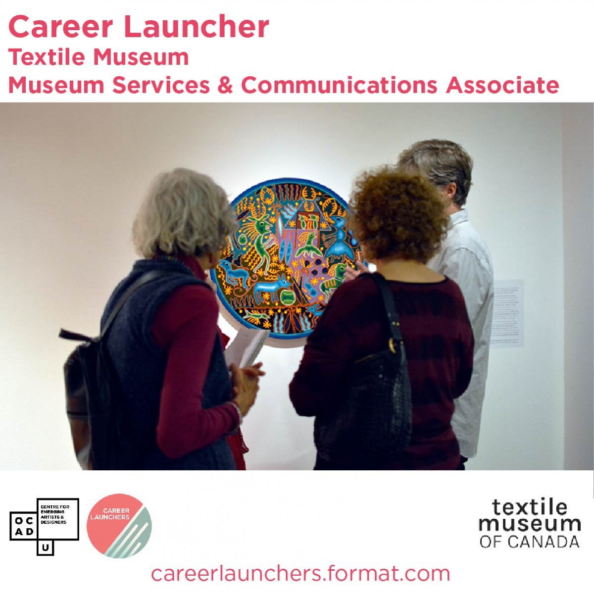 Call for Applications - Textile Museum - Museum Associate & Communications Associate