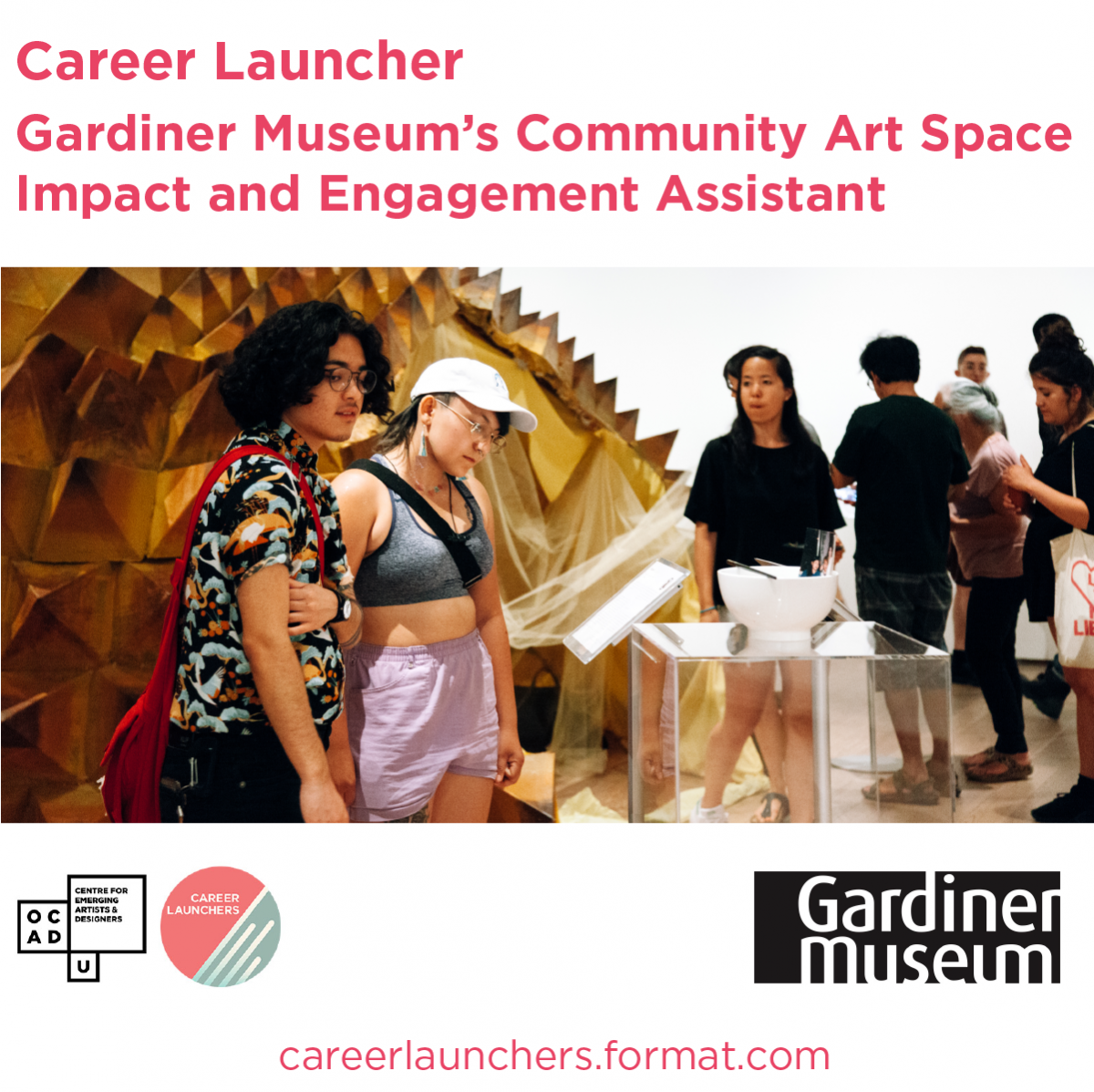 Call for Applications - Gardiner Museum Impact & Engagement Assistant
