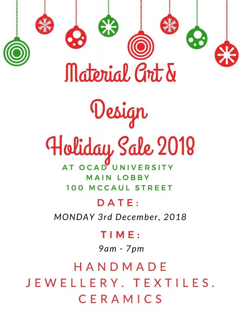 Design Holiday Sale
