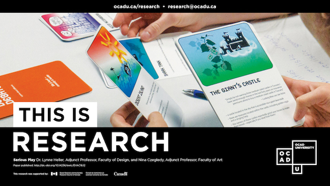 """THIS IS RESEARCH"" Poster campaign for the project"