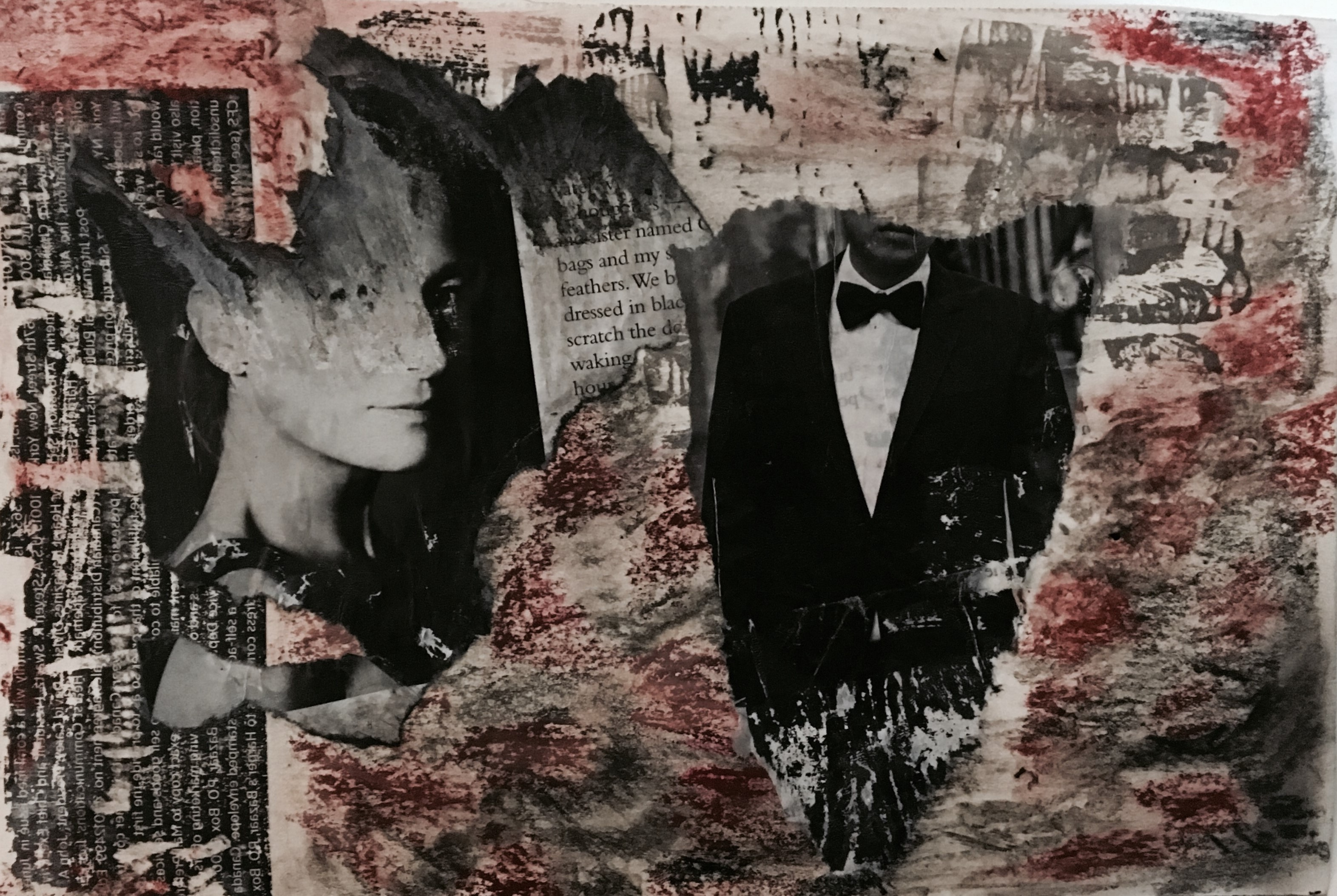Collage by Leila Talei