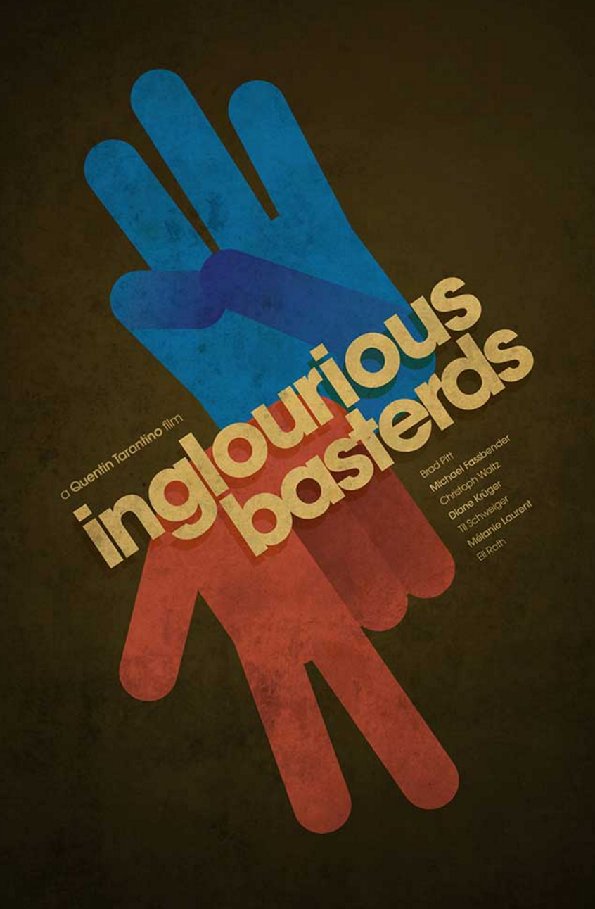 Ibraheem Youssef's Inglorious Basterds Poster