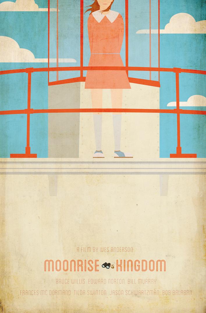 Ibraheem Youssef's Moonrise Kingdom Poster
