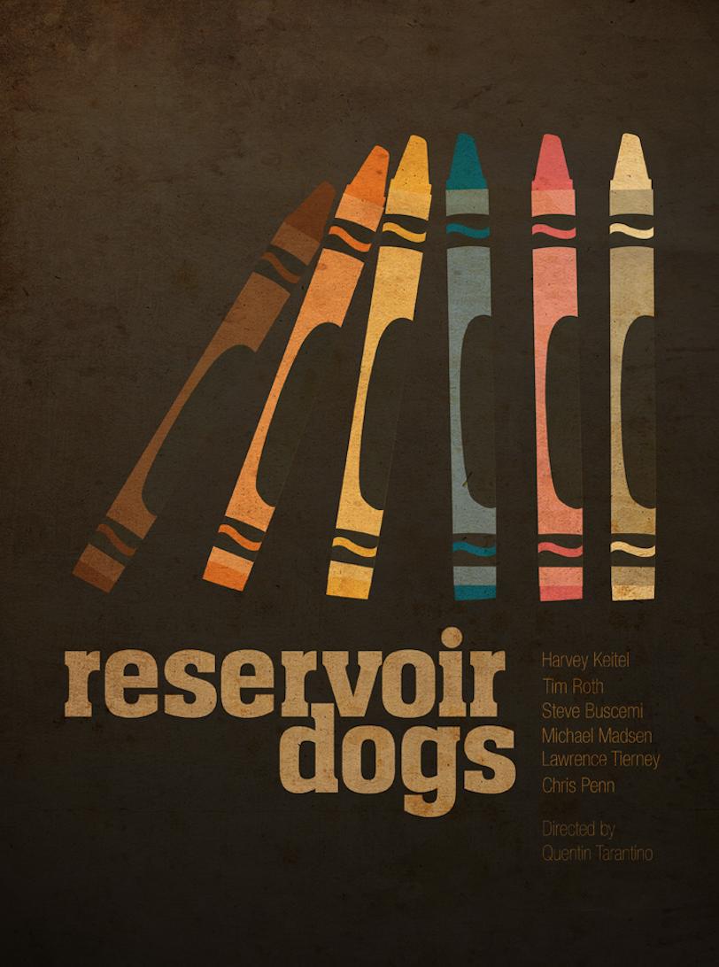 Ibraheem Youssef's Reservoir Dogs Poster