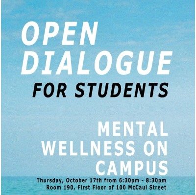 Mental Wellness Open Dialogue for Students