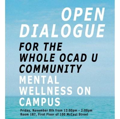 Mental Wellness Open Dialogue for the OCAD U Community
