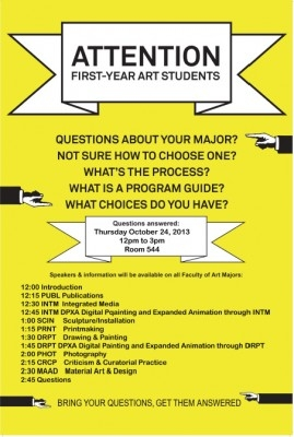 First-Year Art Info Session