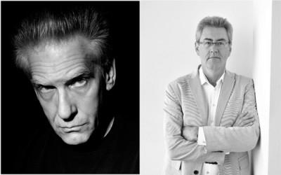 David Cronenberg and Piers Handling