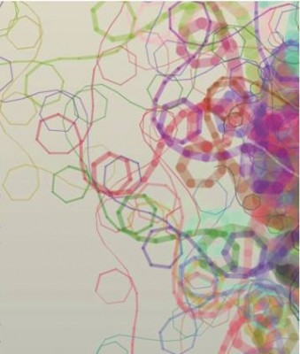image of multi-coloured swirls