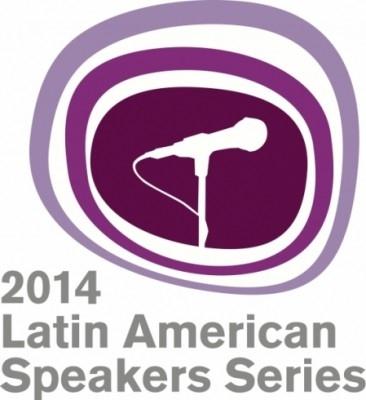 2014 Latin American Speakers Series Poster