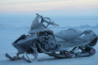 Image of a snowmobile