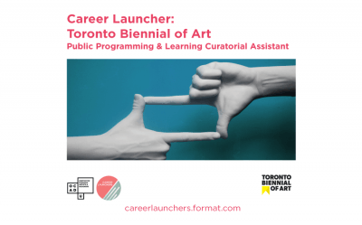 Call for Applications - Toronto Biennale: Public Programming & Learning Curatorial Assist