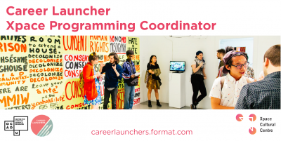 Call for Applications - Xpace Programming Coordinator
