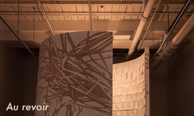 photograph of an art installation