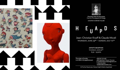 Illustrator JC Knaff along with Claude Miceli's exhibit will take place June 23 to July 10