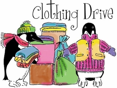 OCAD U Winter Clothing Drive 2016