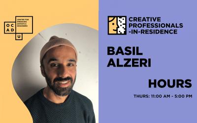 BASIL ALZERI | CREATIVE PROFESSIONAL-IN-RESIDENCE