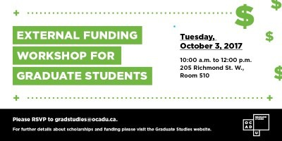 External Funding Workshop Promo Image