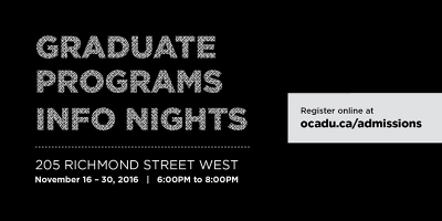 Graduate Studies Info Nights