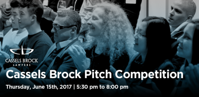 Cassels Brock Pitch Competition June 15th