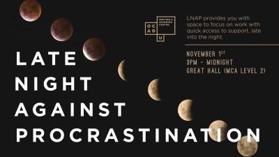 Late Night Against Procrastination Banner Image