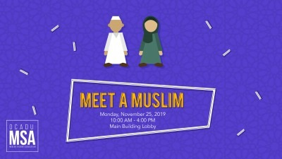 MSA - Meet a Muslim
