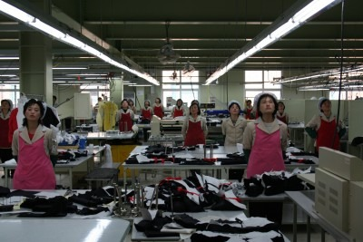 women in a factory