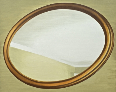 painting_circular frame-like image on background