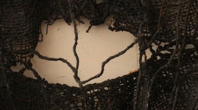 photo detail of textile work