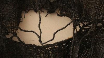 photo detail of textile artwork