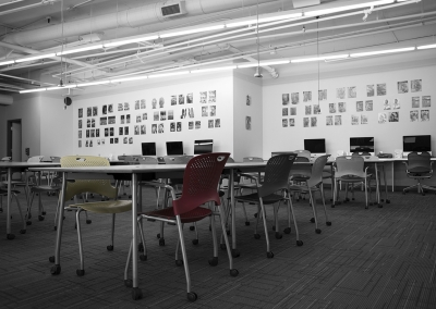 The Learning Zone, interior