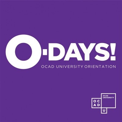 O-Days image, with OCAD U logo