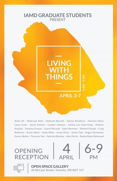Living with things poster