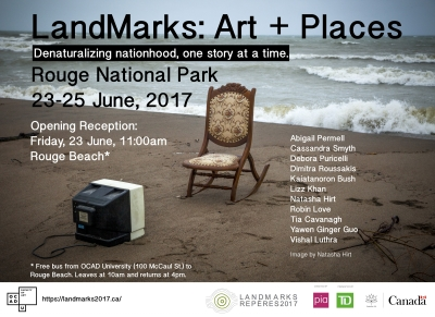 LandMarks: Art + Places