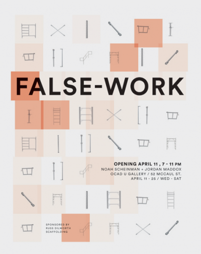 False Work Poster