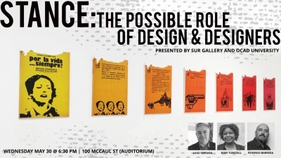 Stance: The Possible role of design and designers