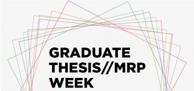 Graduate Thesis//MRP Week logo